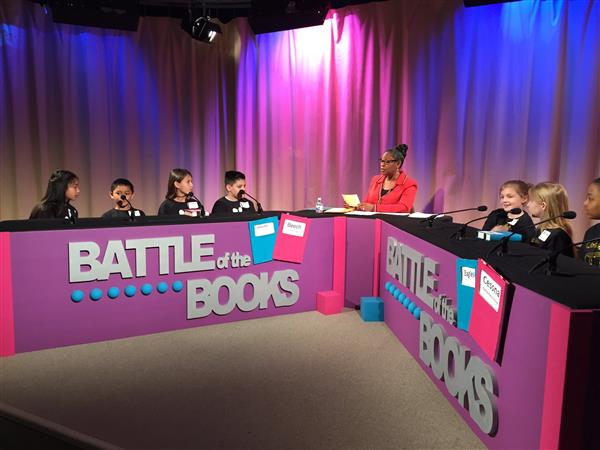 Superintendent Dr. Alicia Thompson hosts the 2019 Battle of the Books